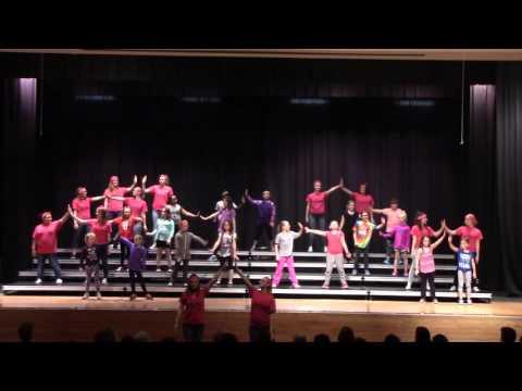 2016 04 02 PLHS Show Choir Kids Clinic PINK