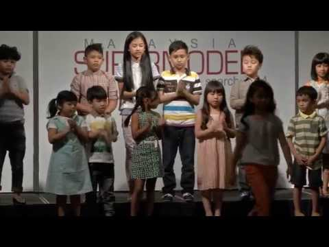 Malaysia Supermodel Search 2014 - Kids Photo shoot ( Episode 3 )