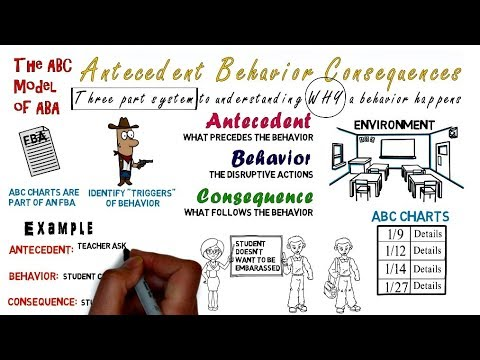 Antecedent Behavior Consequence Abc Charts  Model  Youtube