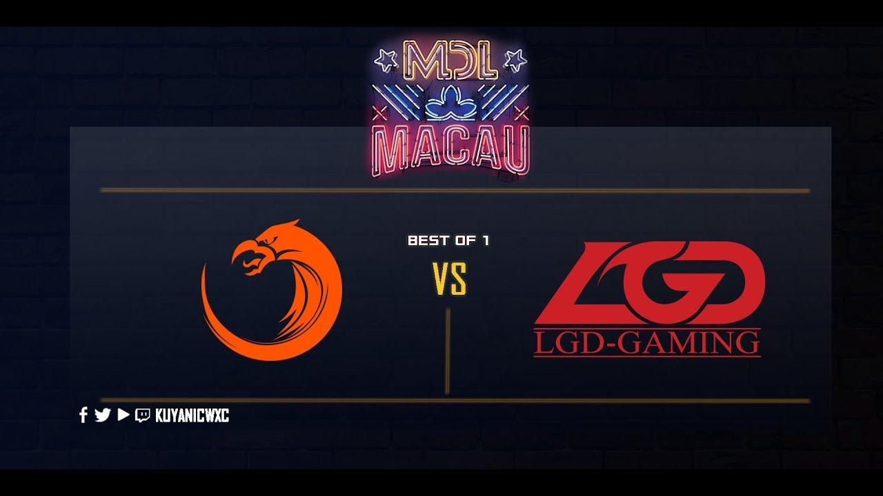TNC Pro Team vs LGD. Gaming Game 1 (Bo1) | MDL Macau