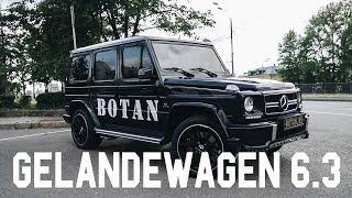 Mercedes benz G63 BOTANmobil