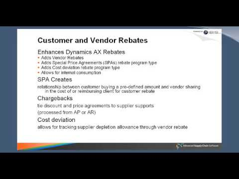 Managing Advanced Pricing from Supplier to Customer