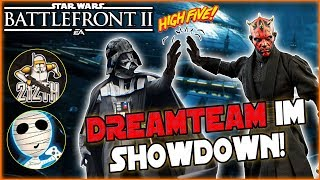 Dreamteam im Showdown! - Star Wars Battlefront II together  212th Taha & Tombie Lets Play