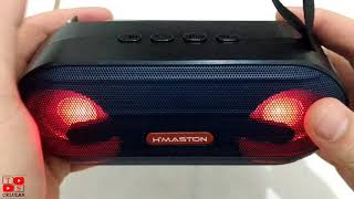 Unboxing Caixa bluetooth H'maston R100