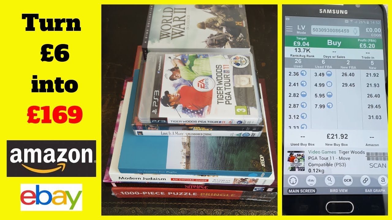 Sell Used Books Puzzles Dvds Ps3 On Amazon And Ebay Youtube