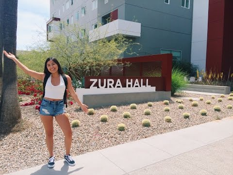 Zura Hall Dorm Tour | San Diego State University