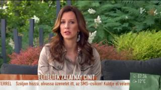Zalatnay Cini: ˝szégyellem magam˝ - tv2.hu/mokka