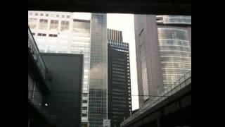 東北・関東大地震。揺れる新宿の高層ビル 2011年3月11日 -original thumbnail