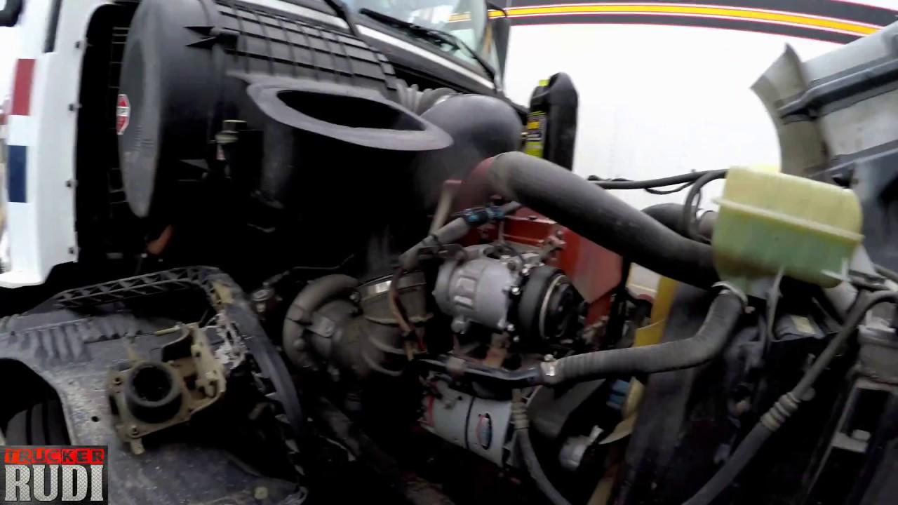Had To Get My Water Pump Change Trucker Rudi 05 29 17 Vlog 1084