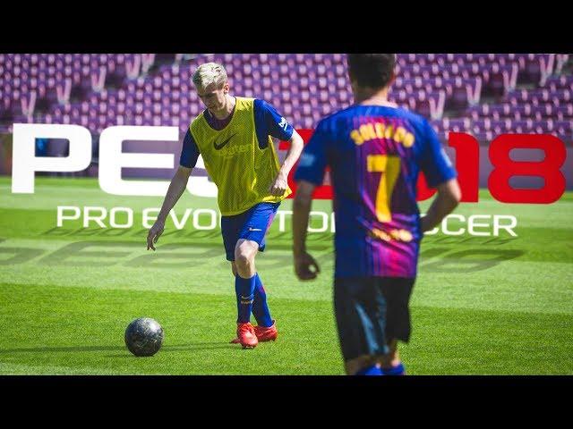 Pro Evolution Soccer 2018 (видео)
