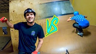 STEVO VS RAYMOND WARNER GAME OF SCOOT! | Who Will Win? thumbnail