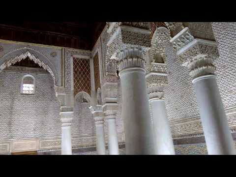 Saadian Tombs, Marrakech: 26/2/17