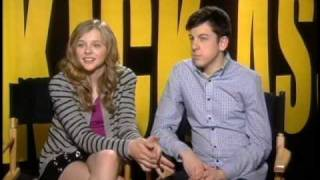 KickAss Christopher Mintz Plasse Chloe Moretz Interview 2 thumbnail