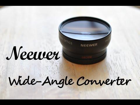Neewer Week Day 2: Neewer Wide-Angle Converter with Macro