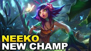NEW CHAMPION NEEKO! Copy ANY champion! Trailer Revealed and Ability Analysis!