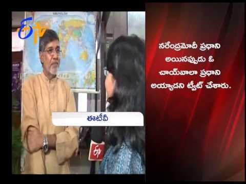 Nobel Peace Prize Awardee Kailash Satyarthi Interview : ETV Exclusive