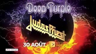 Deep Purple & Judas Priest au Centre Vidéotron