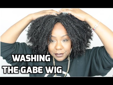 HOW TO WASH CURLY SYNTHETIC WIGS