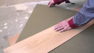 видео Подложка под ламинат листовая