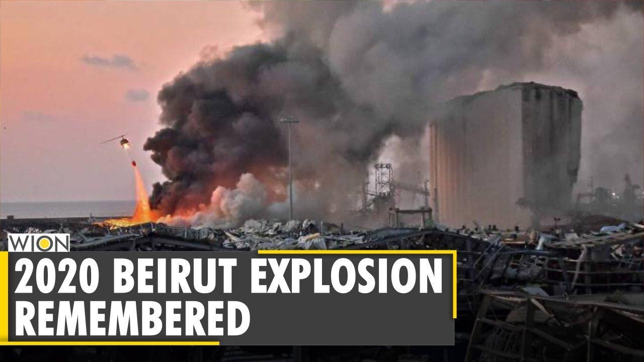 Lebanon marks one year of Beirut port explosion | Latest English News | World News | WION
