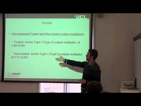 Pt 1: 'Multisectoral effects of a carbon tax on the UK economy', Dr Matthew Winning, UCL