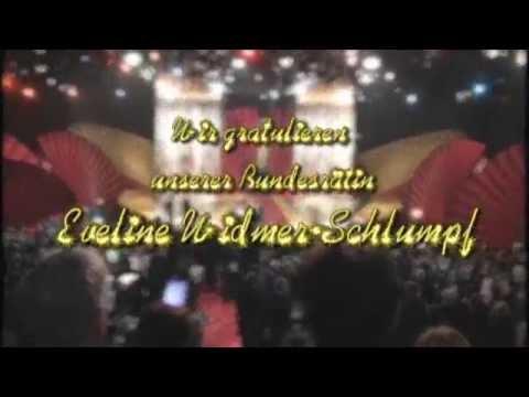 """Eveline Widmer-Schlumpf ist """"Schweizerin des Jahres 2008"""" -  2009"""
