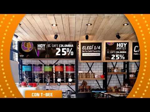Propuesta para Tienda de Café Rosario