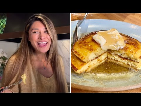 FLUFFY KETO ALMOND FLOUR PANCAKES I Cooking with My Daughter I Easy and Simple Recipe