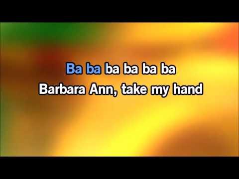 Beach Boys Barbara Ann Karaoke Instrumental