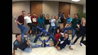 Office Fun Clip-Thank You Lunch and Sock Fun