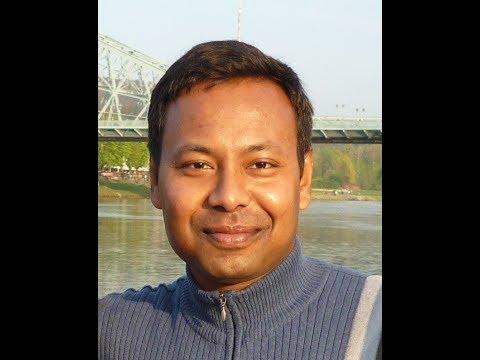 Tele Talk by Amit K. Biswas at DD - Santiniketan.