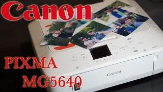 видео Струйное МФУ Canon PIXMA MG5640 White
