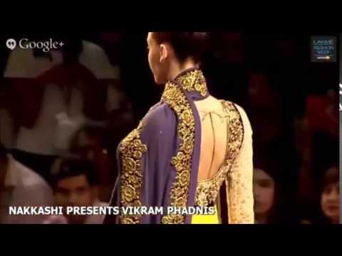 Lakme Fashion Week Designer Dresses Designed By Famous Designer Vikram Phadnis Youtube