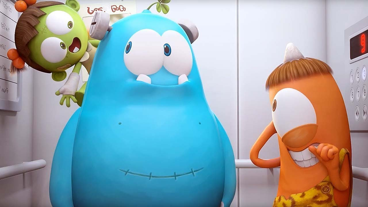 लिफ़्ट   Spookiz Cookie   Cartoons for Kids