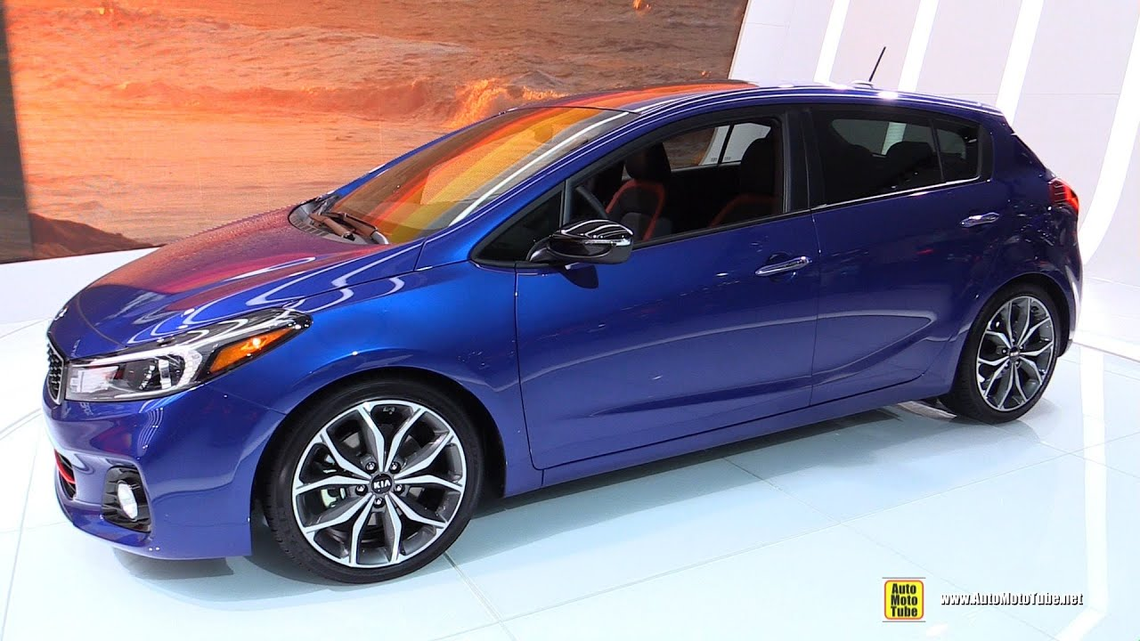 2017 Kia Forte 5 Sx T Gdi Exterior And Interior Walkaround Debut At 2016 Detroit Auto Show You