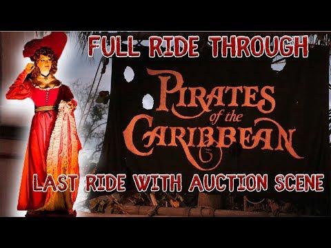 Pirates of the Caribbean Ride Through - W/Auction Scene