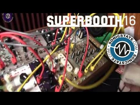 Superbooth 2016: Music Thing Modular Turing Machine and Prototypes