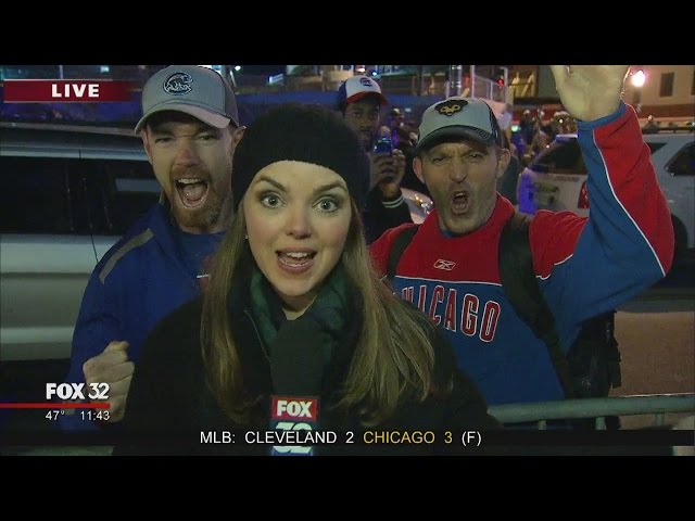 This Cubs fan is jacked about Game 6