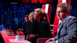 Алиса Игнатьева - Ой, в вишнёвом саду (Слепые прослушивания - Голос - Сезон 3 - 2014)