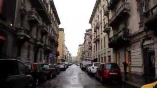 Speedy Gonzales in Milano - timelapse driving 1 fps , 25x accellerate
