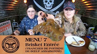 The Girls Review MRE Military Ration In the Bunker
