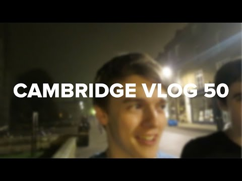Cambridge Vlog 50 | Mysterious Party Underneath King