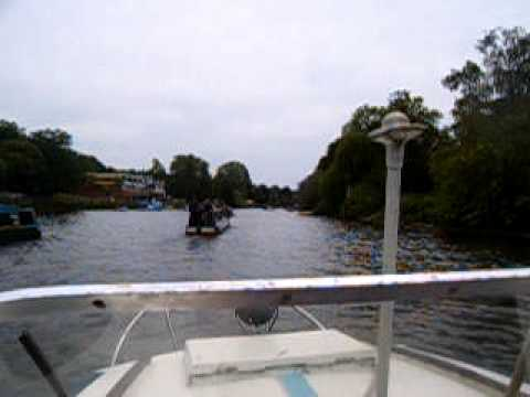 Going through Richmond on the Tidal Thames trip