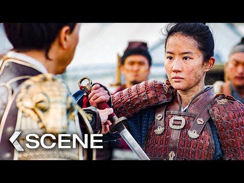 Lower Your Sword Scene - MULAN (2020)