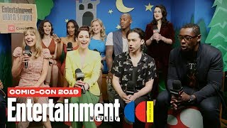 'Supergirl' Stars Melissa Benoist, Chyler Leigh & Cast LIVE | SDCC 2019 | Entertainment Weekly Video