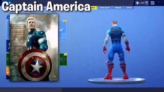 🔥 filtered Skins Avengers Fortnite: Battle Royale 🔥