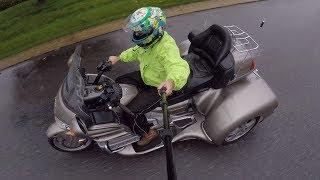 Goldwing 1800 CSC Trike Test Drive