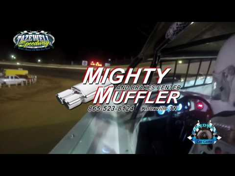#97 Aaron Guinn - Sportsman - 6-2-17 Tazewell Speedway - In-Car Camera