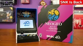 SNK Neo Geo Mini Unboxing And Impressions! SNK Is Back?