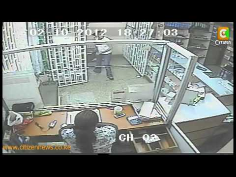 Daylight Robbery Captured Live